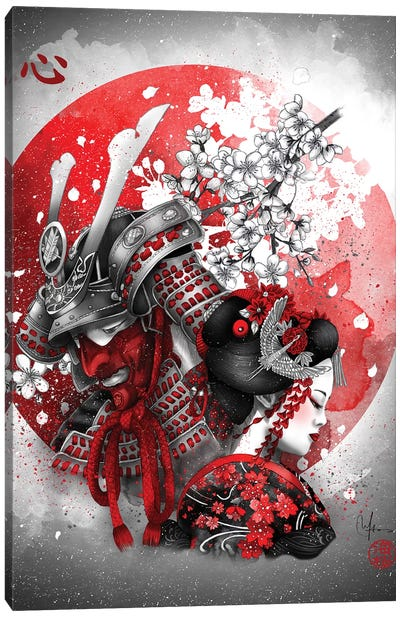 Kokoro Canvas Art Print