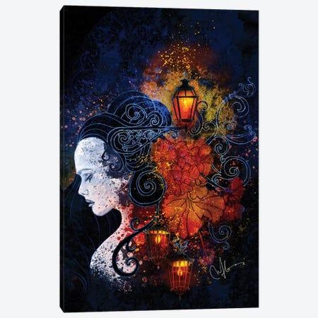 Lisbon Lights Canvas Print #MUP45} by Marine Loup Canvas Art