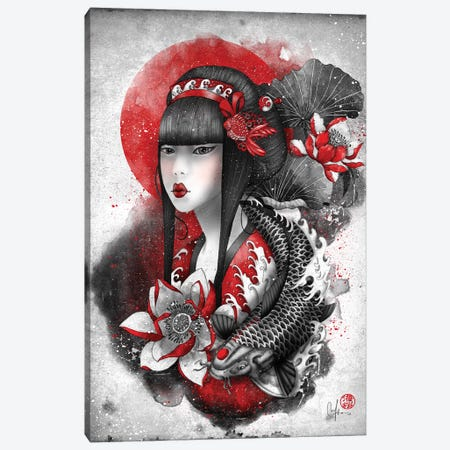 Mizu Canvas Print #MUP51} by Marine Loup Canvas Artwork