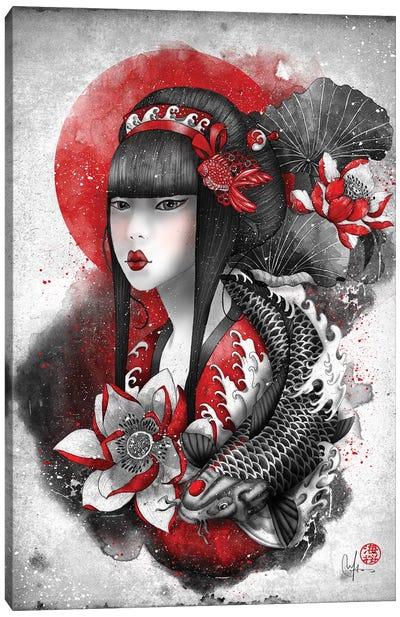 Mizu Canvas Art Print