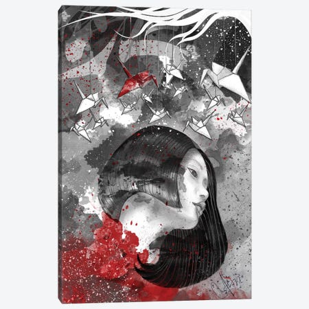 Paper Souls Canvas Print #MUP55} by Marine Loup Art Print