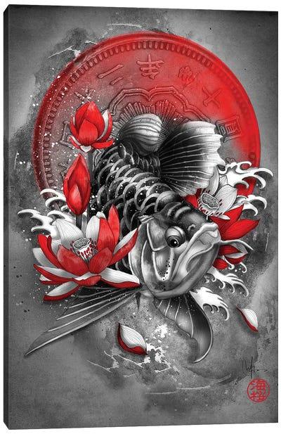 Arowana Fish Canvas Art Print