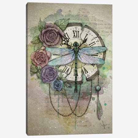 Time Flies Canvas Print #MUP67} by Marine Loup Canvas Wall Art