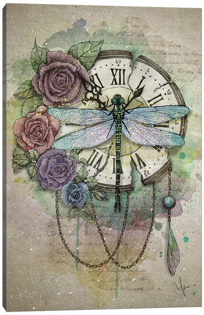 Time Flies Canvas Art Print