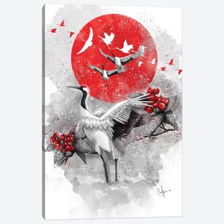 Tsuru Canvas Print #MUP69} by Marine Loup Canvas Art Print