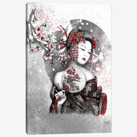 Under The Flower Canvas Print #MUP72} by Marine Loup Canvas Artwork