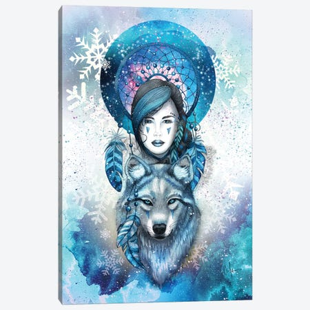 Winter Dreams Canvas Print #MUP75} by Marine Loup Art Print