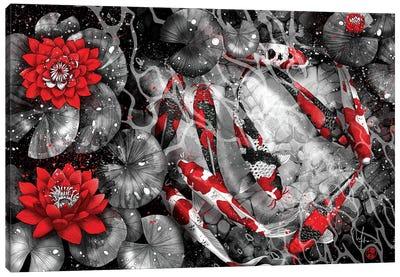 9 Kois Canvas Art Print