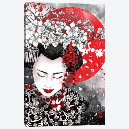 Silence Is Golden - Iwanu Ga Hana Canvas Print #MUP85} by Marine Loup Canvas Wall Art