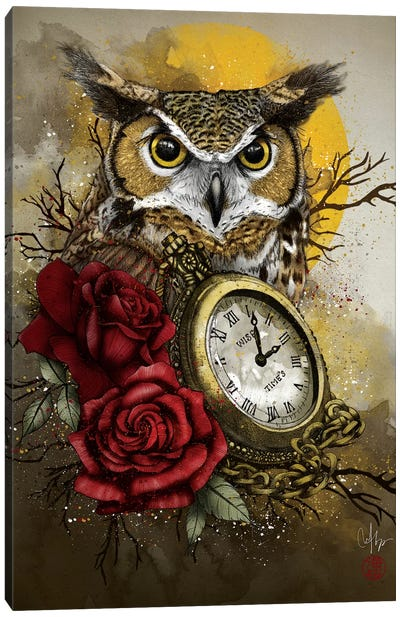 Time Is Wise Canvas Art Print