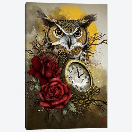 Time Is Wise 3-Piece Canvas #MUP87} by Marine Loup Canvas Artwork