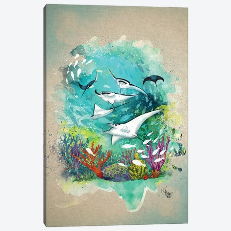 Under The Sea Canvas Print #MUP90} by Marine Loup Canvas Wall Art
