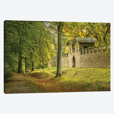 Saalburg Guard House Canvas Print #MUR11} by Ramona Murdock Canvas Wall Art