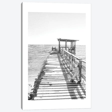 The Pier Canvas Print #MUR12} by Ramona Murdock Canvas Wall Art