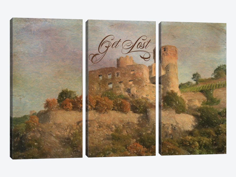 Get Lost by Ramona Murdock 3-piece Canvas Artwork