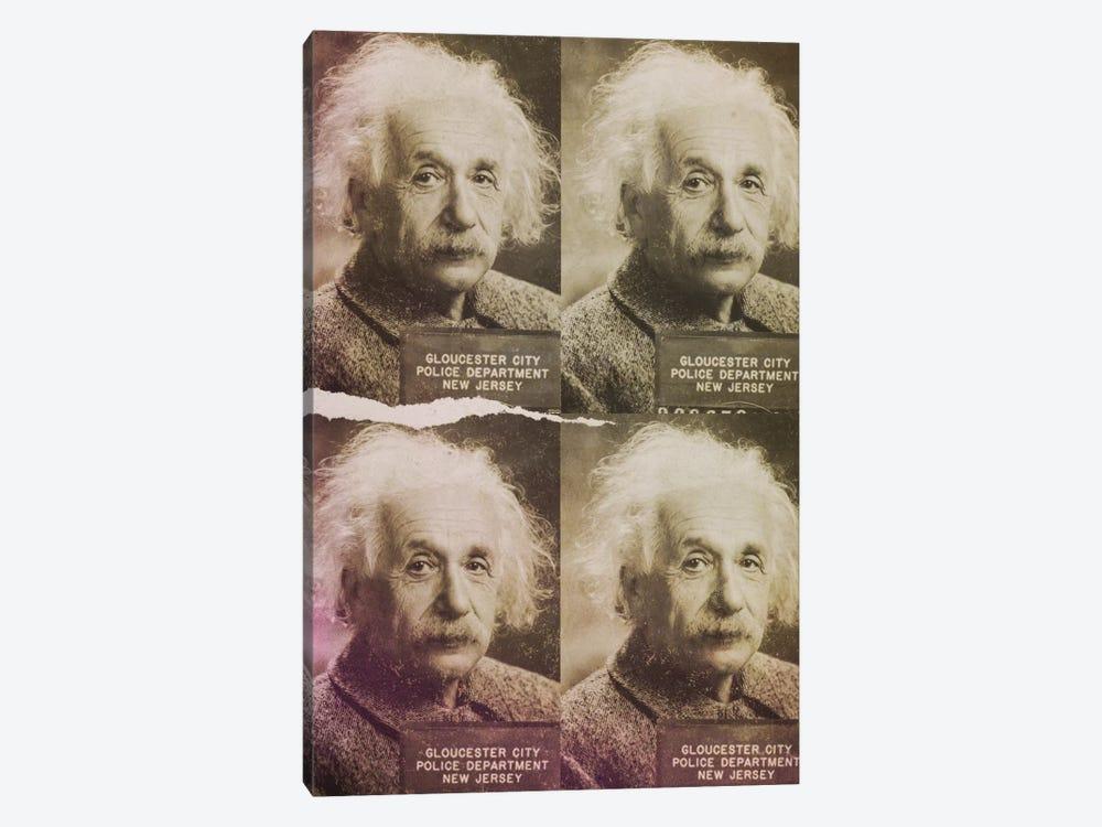 Albert Einstein by 5by5collective 1-piece Canvas Art Print
