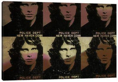 Jim Morrison Canvas Print #MUS8