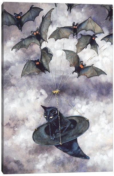 Batmobile Canvas Art Print