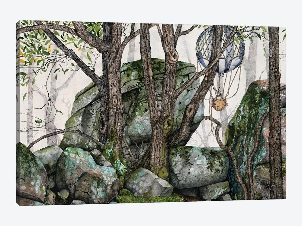 Wildwood by Maggie Vandewalle 1-piece Canvas Wall Art