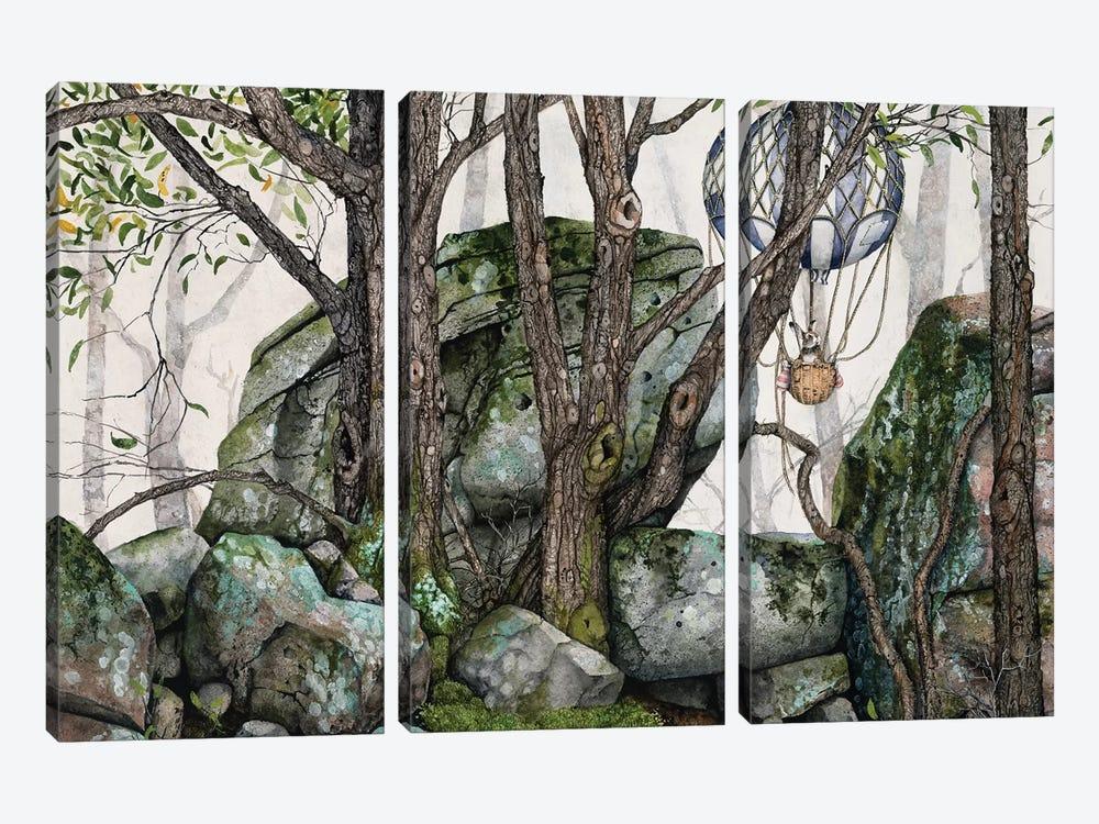 Wildwood by Maggie Vandewalle 3-piece Canvas Artwork