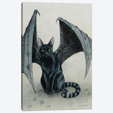 The City Battycat Canvas Print #MVA112} by Maggie Vandewalle Canvas Art