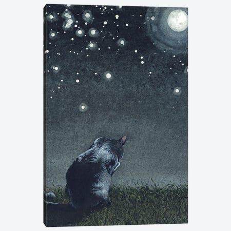 Moonbathing Canvas Print #MVA115} by Maggie Vandewalle Canvas Print