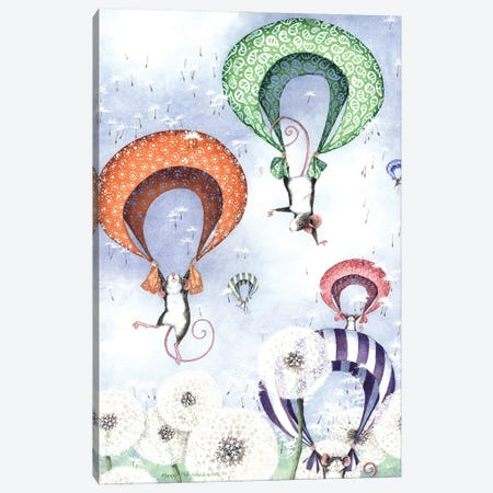 Free Fall Canvas Print #MVA117} by Maggie Vandewalle Canvas Art Print