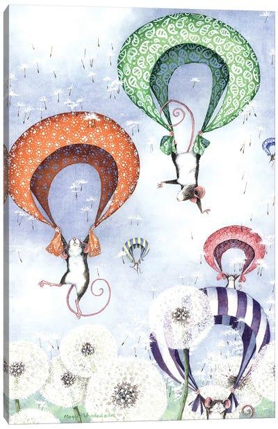 Free Fall Canvas Art Print