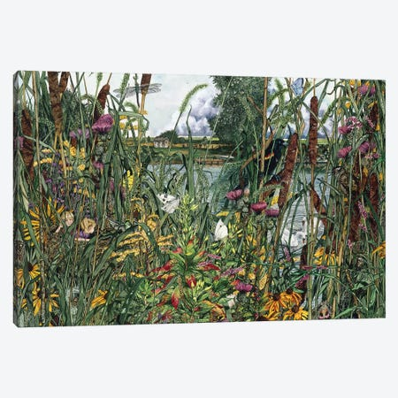 Bird's Eye View Canvas Print #MVA11} by Maggie Vandewalle Canvas Art Print