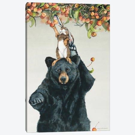 Bearing Bunnies Canvas Print #MVA123} by Maggie Vandewalle Canvas Art Print