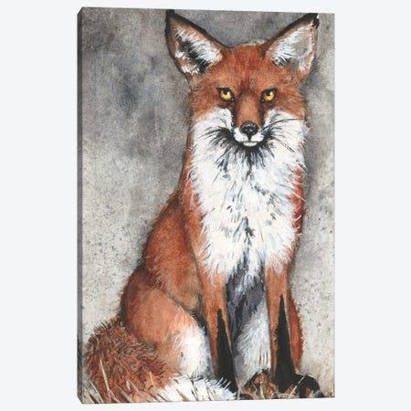 Foxy Canvas Print #MVA128} by Maggie Vandewalle Canvas Art Print