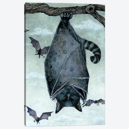 Catnap Canvas Print #MVA17} by Maggie Vandewalle Canvas Art