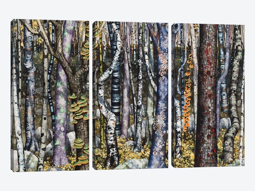 Copse by Maggie Vandewalle 3-piece Canvas Print