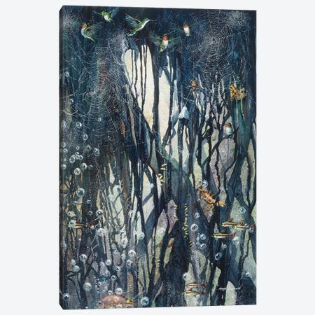 Elemental Canvas Print #MVA29} by Maggie Vandewalle Canvas Artwork