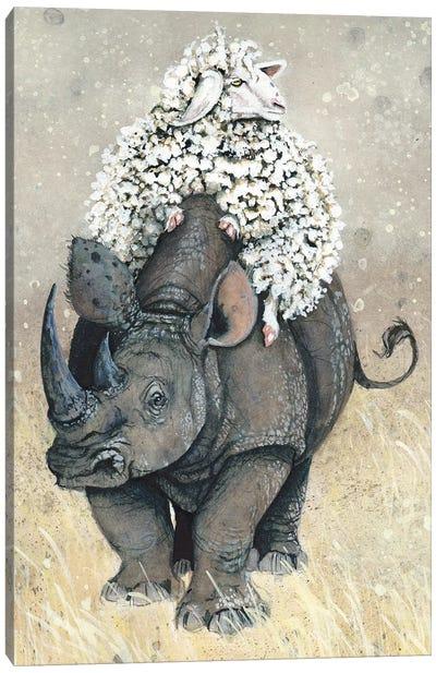 Ethel, World Traveler Canvas Art Print