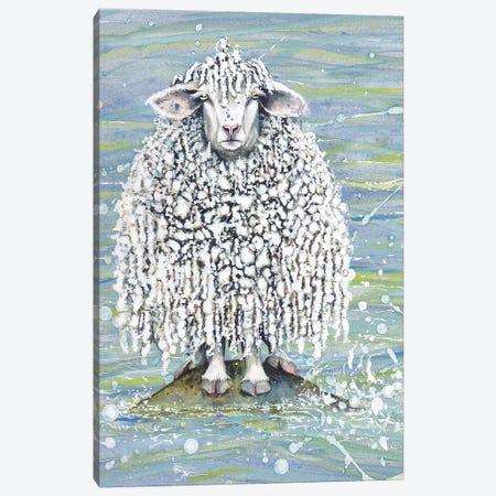 Ethel's Seaside Visit Canvas Print #MVA32} by Maggie Vandewalle Art Print
