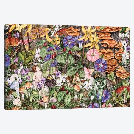Fairies' Fairies Canvas Print #MVA33} by Maggie Vandewalle Art Print