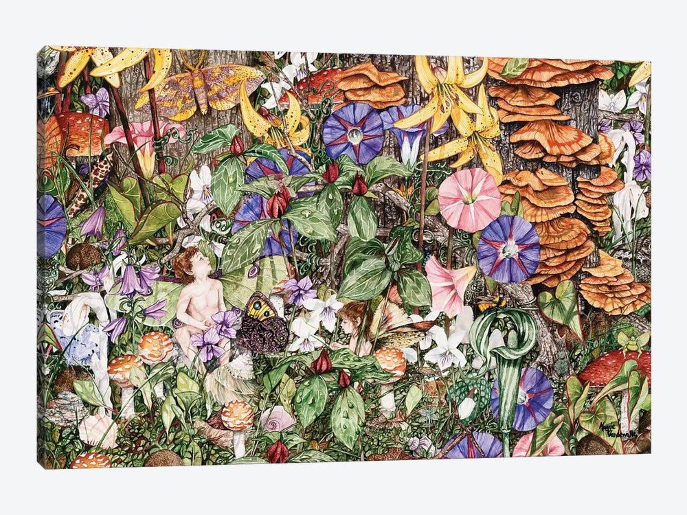 Fairies' Fairies by Maggie Vandewalle 1-piece Canvas Wall Art