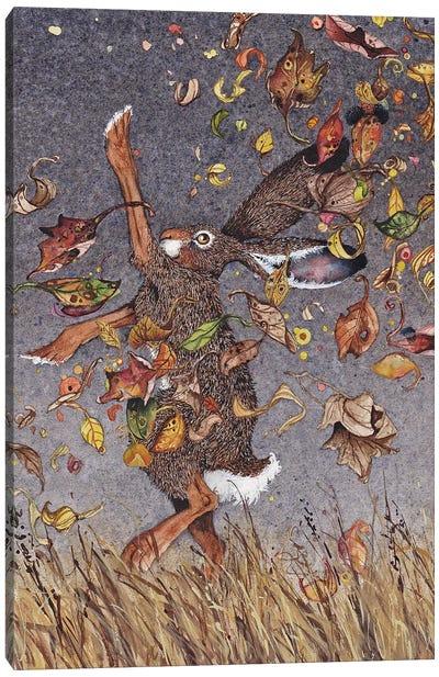 Happy Dance Canvas Art Print