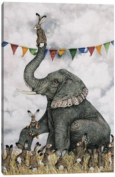 Rorys Side Gig  Canvas Art Print