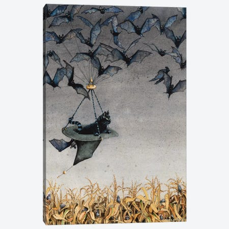 Straight On Till Morning Canvas Print #MVA67} by Maggie Vandewalle Art Print