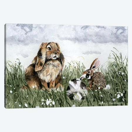 The Storyteller Canvas Print #MVA73} by Maggie Vandewalle Canvas Print