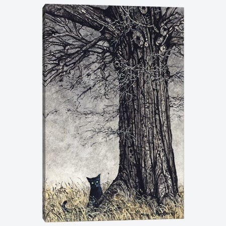 Wild Thing Canvas Print #MVA80} by Maggie Vandewalle Canvas Wall Art