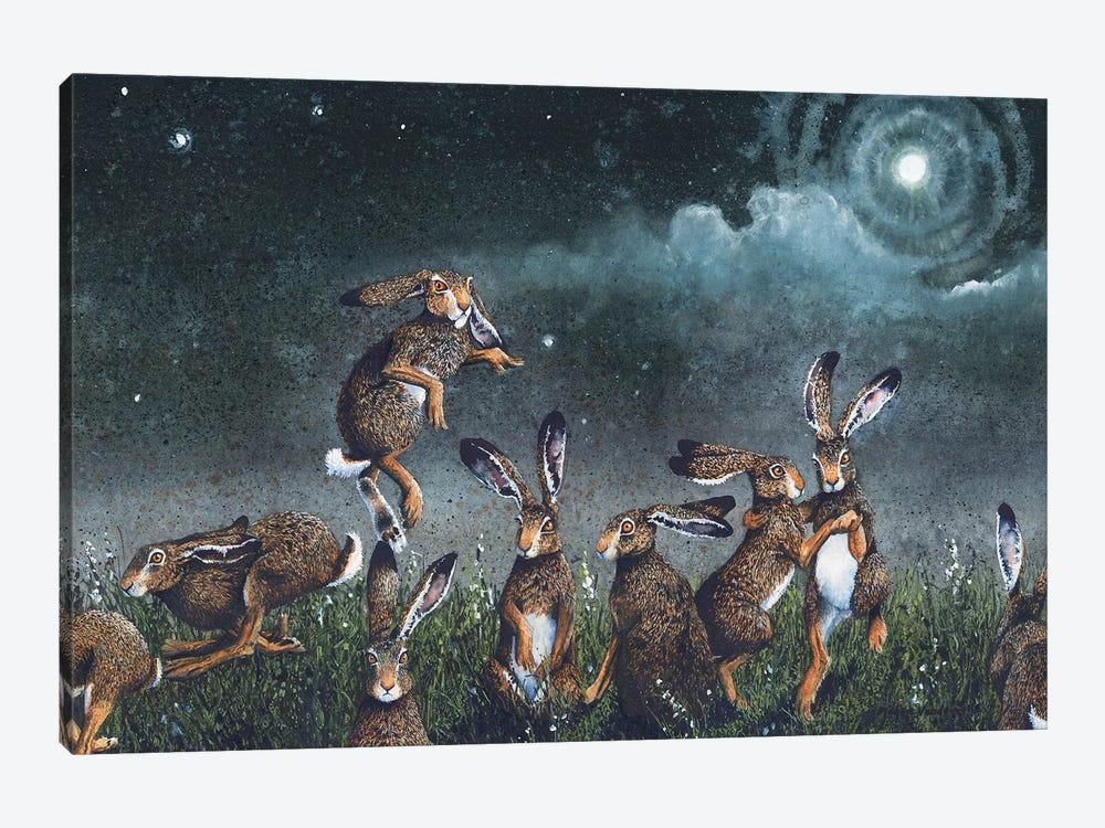 Moondance by Maggie Vandewalle 1-piece Canvas Artwork