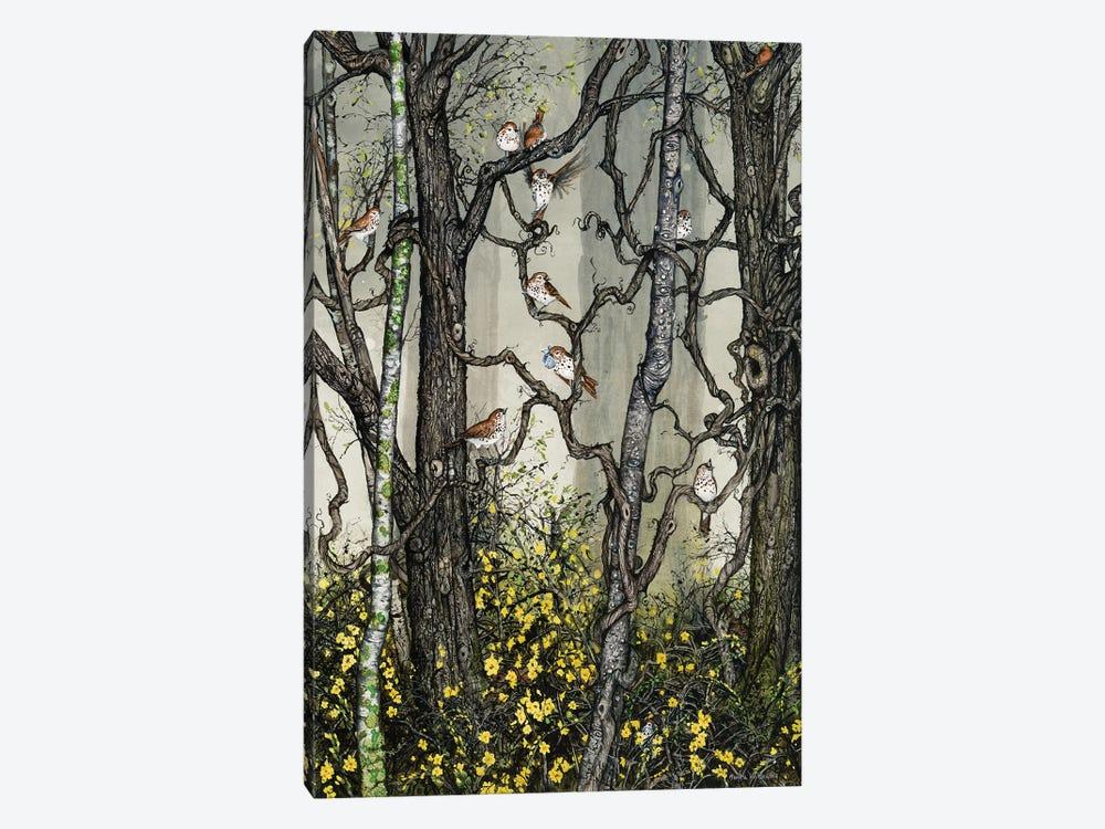 Winter Jasmine by Maggie Vandewalle 1-piece Canvas Art