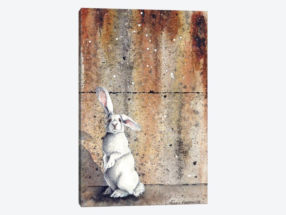 Concrete Bunny by Maggie Vandewalle 1-piece Canvas Artwork