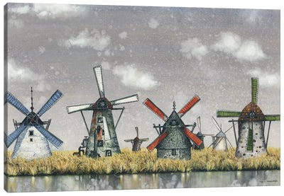 Atmospheric Canvas Art Print