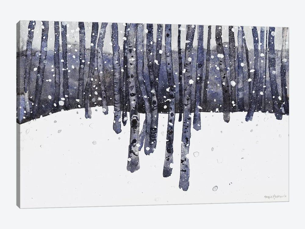 Study In Blue by Maggie Vandewalle 1-piece Art Print