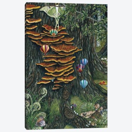 Balloons Races Canvas Print #MVA9} by Maggie Vandewalle Canvas Print