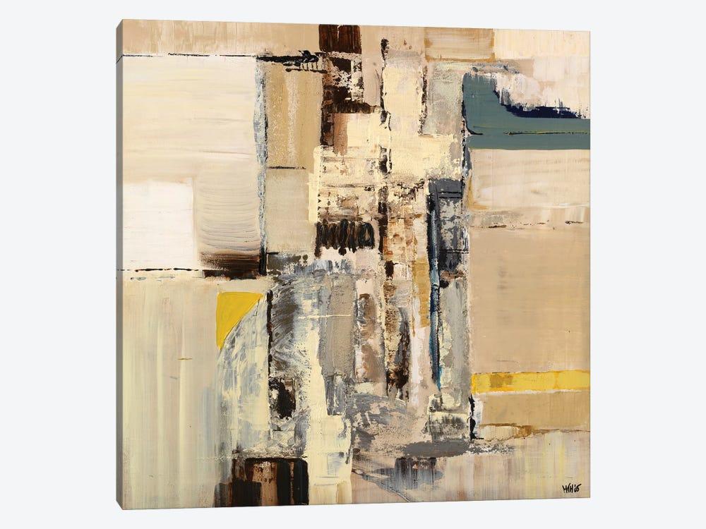 Splash Square I by Marie T van Engelshoven 1-piece Canvas Print